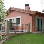 BR&C arquitectos Fachada jardín reformada Plencia, Abanico