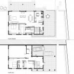 BR&C arquitectos Planos vivienda Plencia, Abanico