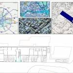 BR&C arquitectos Plano ubicación edificio apartamentos Bucarest