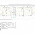 BR&C arquitectos Plano plantas edificio apartamentos Bucarest