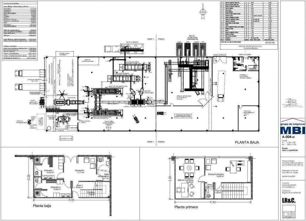 Nave industrial teruel br c arquitectos for Planos en pdf arquitectura