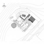 BR&C arquitectos Plano emplazamiento vivienda unifamiliar Vizcaya