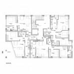 BR&C arquitectos Plano viviendas edificio Getxo