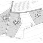 BR&C arquitectos Plano planta viviendas unifamiliares Vizcaya