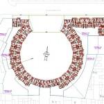 BR&C arquitectos Plano planta edificio Logroño