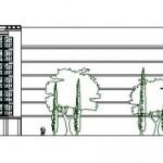 BR&C arquitectos Plano alzado edificio Logroño