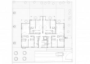 BR&C arquitectos Plano planta edificio Getxo