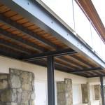 BR&C arquitectos Detalle pasarela vivienda unifamiliar Sopelana