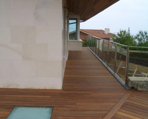 BR&C arquitectos Terraza vivienda unifamiliar Sopelana