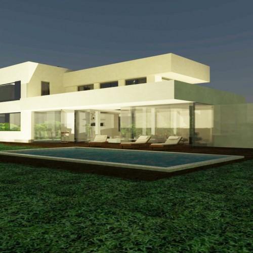 BR&C arquitectos Infografía reforma vivienda